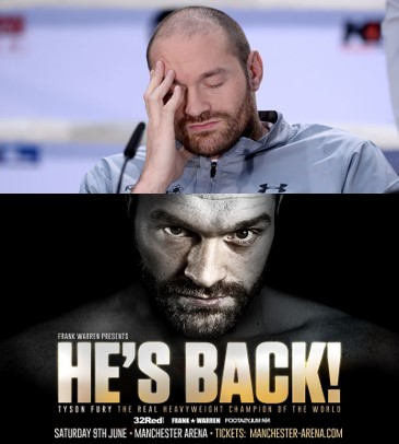 Return of The Mack - Tyson Fury's Comeback vs Sefer Seferi