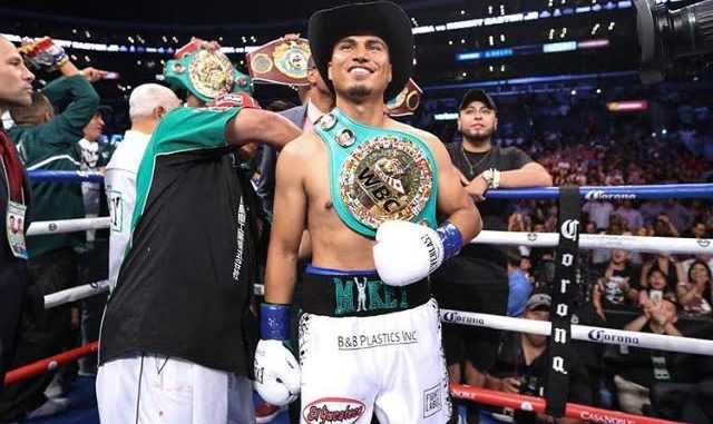 Mikey Garcia Basks In Victory at the Staples Center after defeating Robert Easter