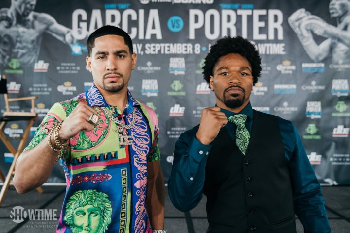 Shawn Porter will face Danny Garcia on September 8th