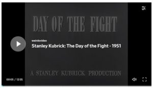 Day of the Fight by Stanley Kubrick
