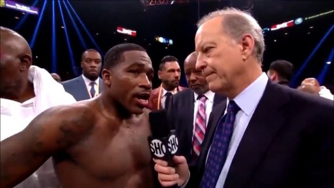 Adrien Broner's bizarre interview with Jim Gray Postfight