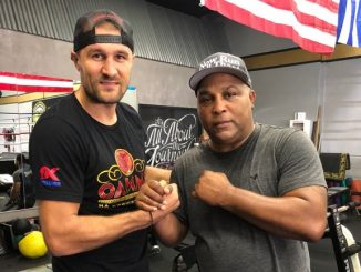 Buddy McGirt and Sergey Kovalev