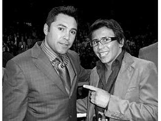 Edwin Valero and Oscar De La Hoya